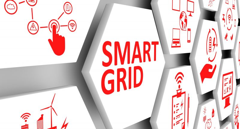 smart, grid, technology, business, benefits, economic, reliability, efficiency, consumption, production, collection, communication, information, electrical, power, supply, network, concept, conceptual, management, background, success, illustration, 3d, render, cell